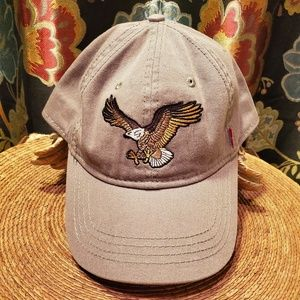 LEVI'S Bald Eagle adjustable cap EUC